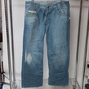 Diesel Yokees-881 Relaxed Bootcut Jeans 36x32